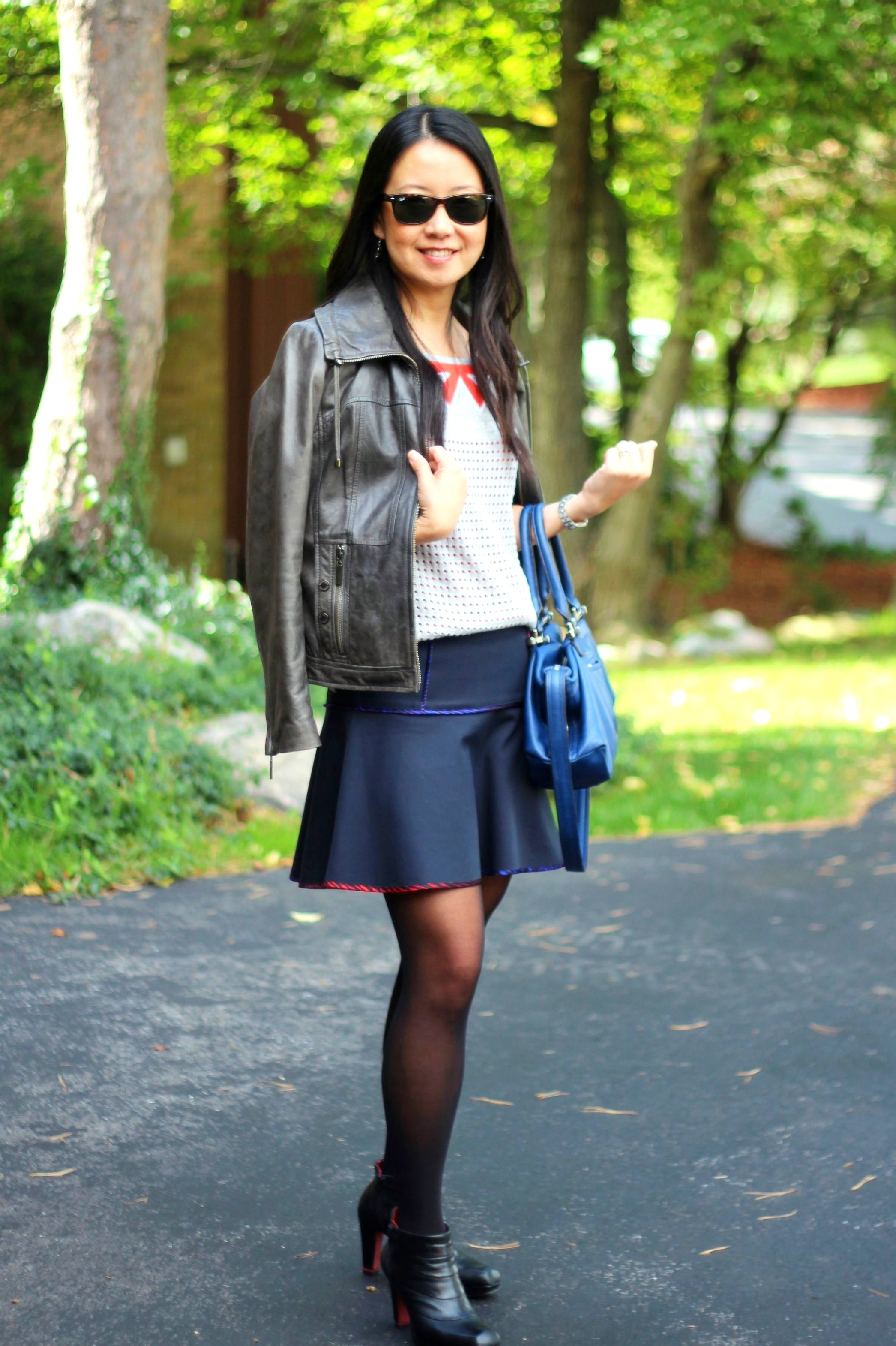 Outfit Highlight The 40-Year-Old School Girl? - My Rose Colored Shades