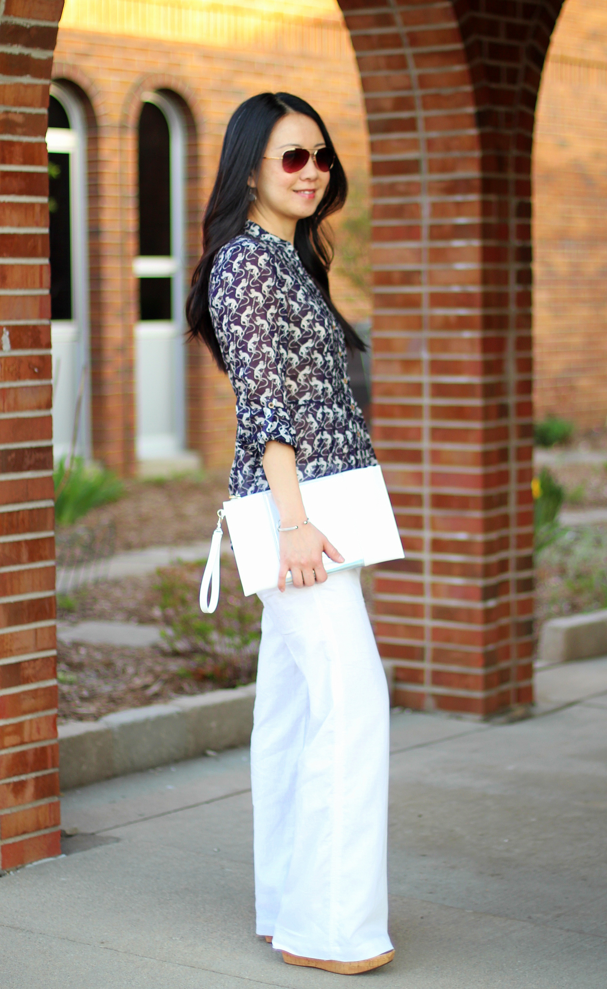 Outfit Highlight: Monkey Business & Wide-Leg Pants - My Rose ...
