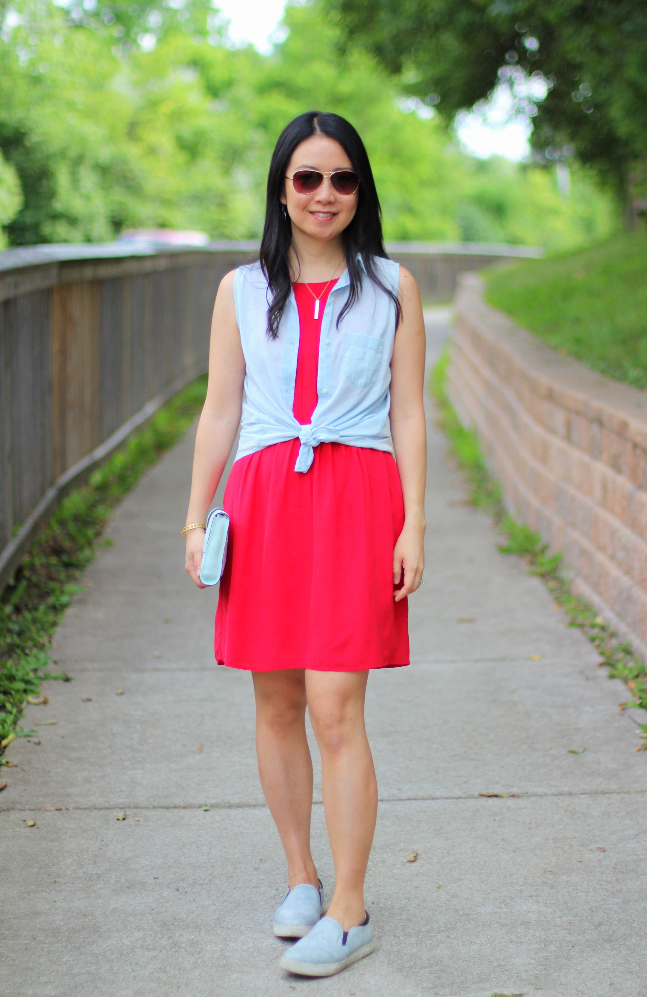 2733b23695 This fun and vibrant color is eye-catching and adds that extra flair to any  look. I bought this Madewell dress last ...
