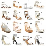 On the Hunt for…White Sandals