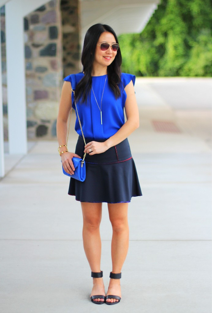 Cobalt Blue and Short Skirts 2