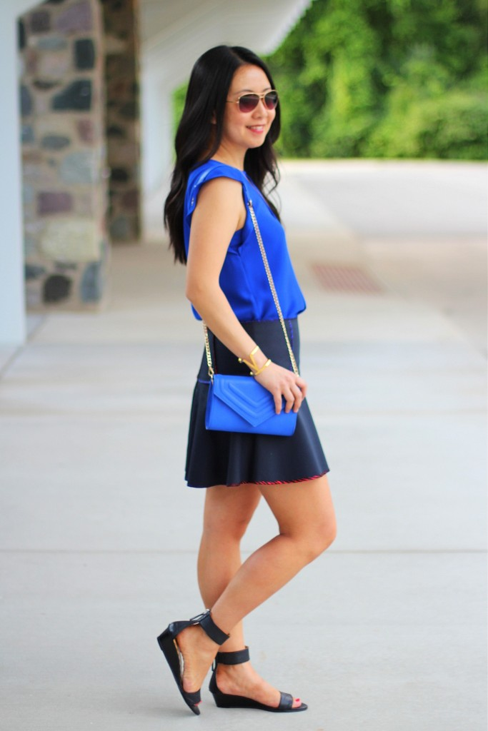 Cobalt Blue and Short Skirts 3