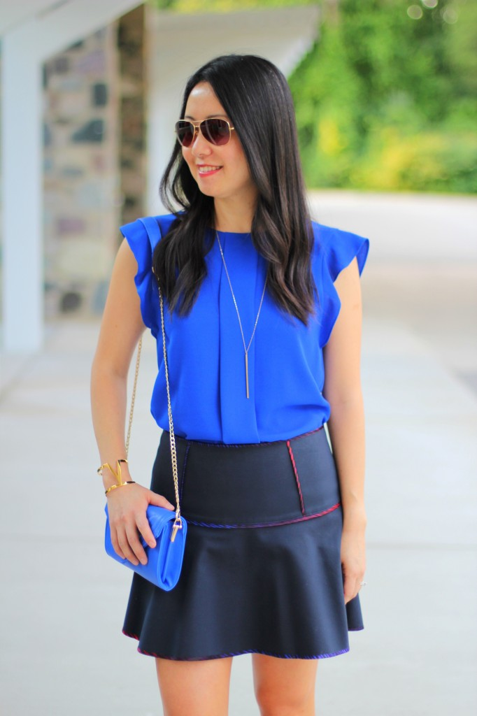Cobalt Blue and Short Skirts 5