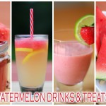 Recipe Highlight: Watermelon Drinks and Treats