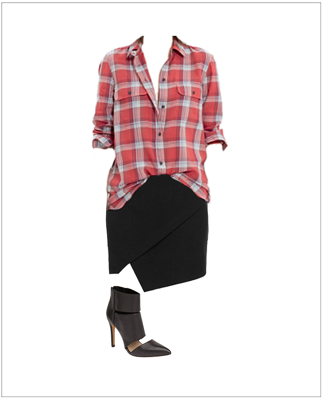 Plaid with a Skirt