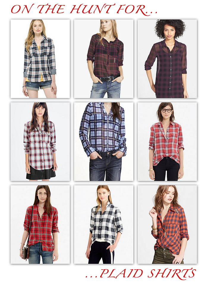 On the Hunt for...Plaid