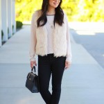 Outfit Highlight: Falling for Faux Fur in Fall