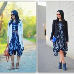 From Country Chic to City Sleek: Painted Plaid Dress