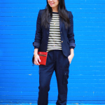 Outfit Highlight: Business on Top and Party on the Bottom