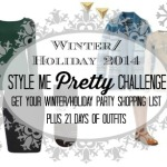 Winter/Holiday 2014 Style Me Pretty Challenge