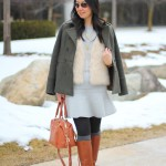Outfit Highlight: Fur, Flare & Fitted Boots
