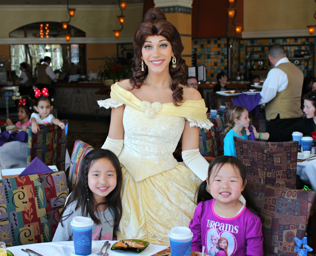 Disney World, Citricos, Grand Floridian Resort, Brunch with the Princesses, Disney character dining, Disney restaurants, Disney dining plan