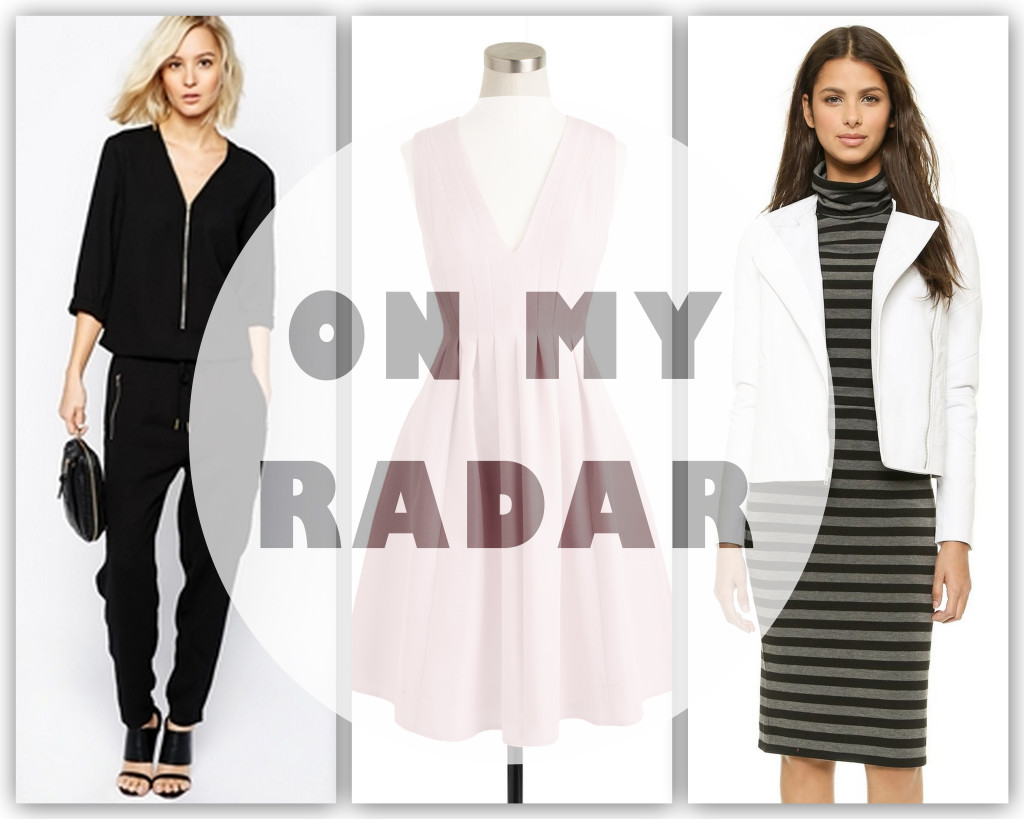 currently on my radar, spring trends, wish list, shopping list, pastels, white and black