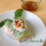 Recipe Highlight: Quick-and-Easy Vietnamese Summer Rolls