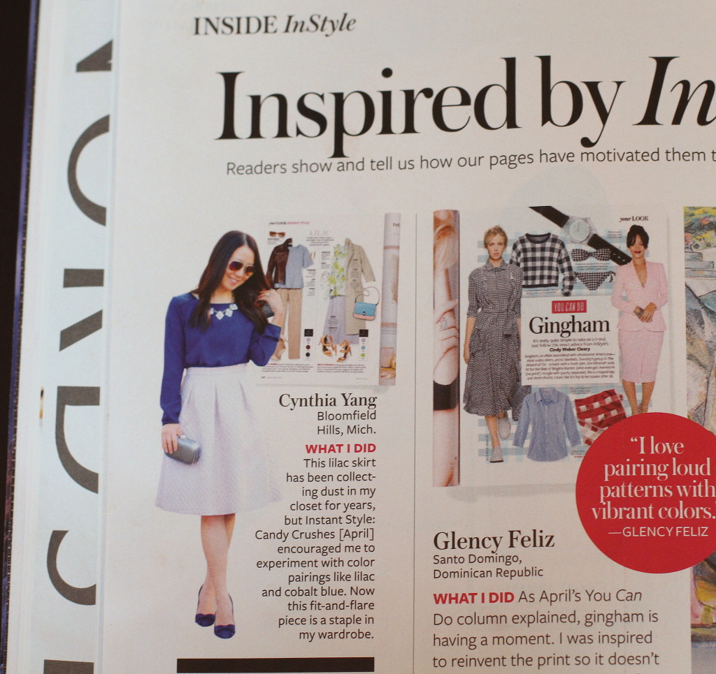 InStyle, Inspired by InStyle, magazine feature