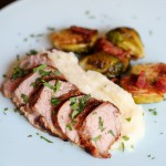 Recipe Highlight: Lime Chipotle Marinated Pork Tenderloin with Roasted Brussels Sprouts