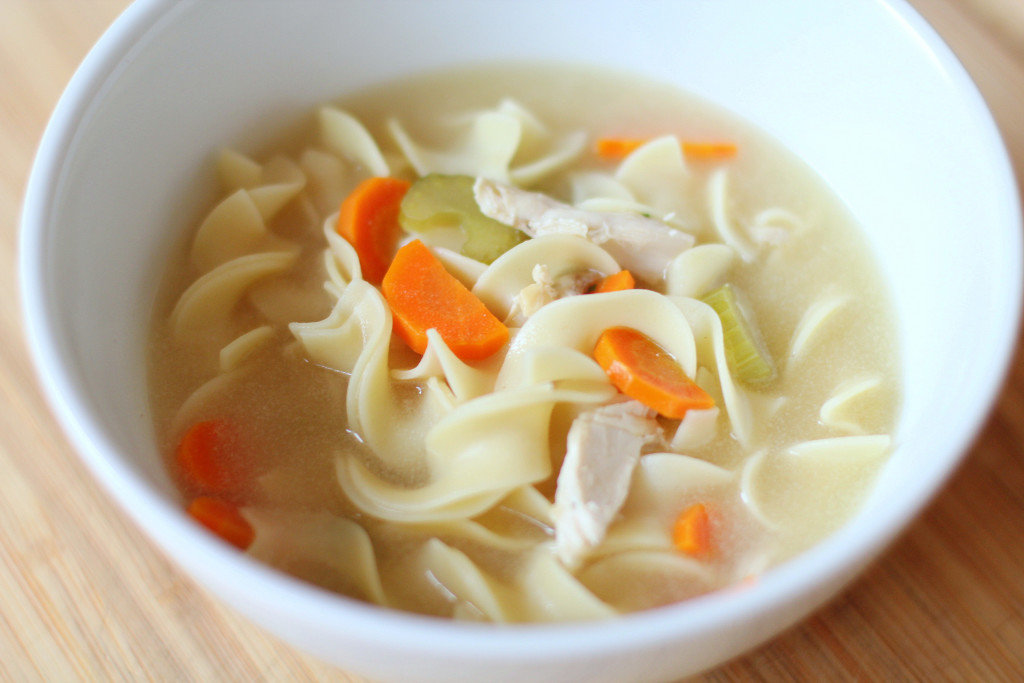 Recipe Highlight: Quick-And-Easy Chicken Noodle Soup - My Rose Colored ...