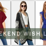 Weekend Wish List: Fall Colors