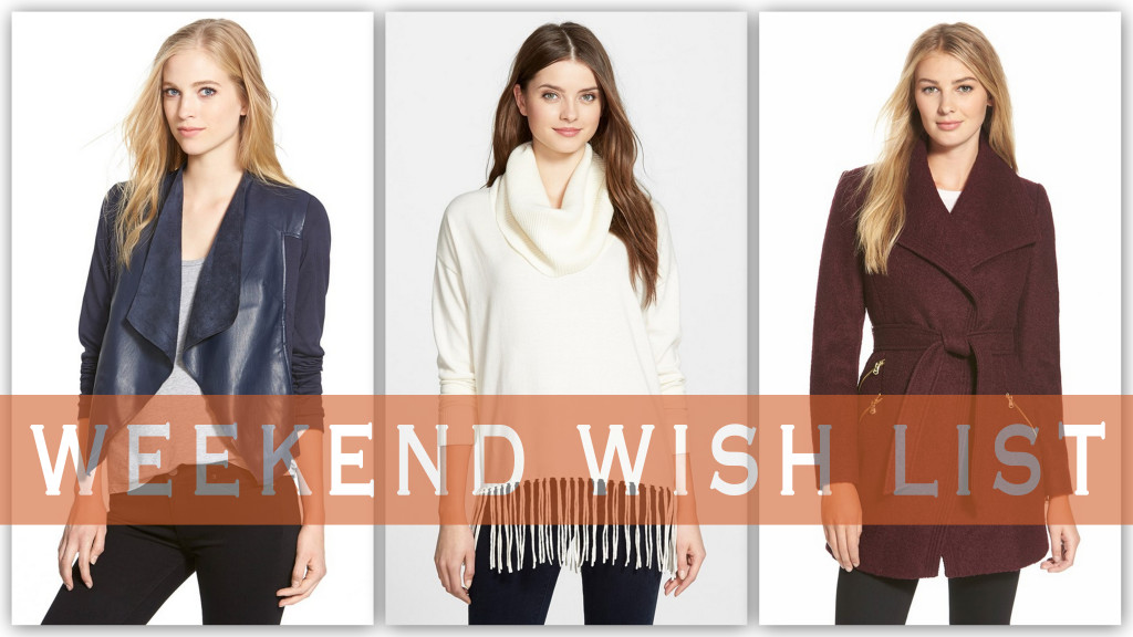 Nordstrom sale, fall fashion, fall colors, drapey jacket, fringe sweater, burgundy coat, cocktail dress, holiday dress, OTK boots, Ray Ban sunnies